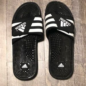 Adidas slides 12 men's